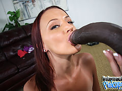 12 inches of black cock makes Taylor Bliss a star in a movie never intended for release